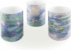 Blauwe Lanzfeld (museumwebshop.com) Wind lichtjes, Monet, Waterlelies