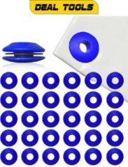 Blauwe Deal Tools Hoogwaardig Kunststof Dekzeil Ogen Set | 30 Stuks