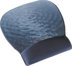 Blauwe 3M muismatten Precise� Mousing Surface with Gel Wrist Rest MW311BE, Blue Water Design