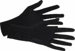 Zwarte Craft Active Extreme 2.0 Glove Liner 1904515 - Handschoenen - Black - Unisex - Maat M