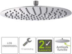 Roestvrijstalen Boss & Wessing BWS Hera Hoofddouche UFO 30cm Ultra plat Rond 304-RVS