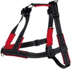 TRIXIE Tuig Lead'n'Walk Soft zwart maat L-XL 65-105 cm 13057