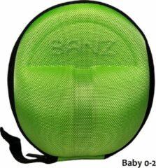 Groene Banz - Hoes voor geluiddempende oorbeschermers - Hear no Blare - Lime - maat Onesize (2-5yrs)
