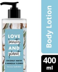 Love Beauty and Planet Luscious Hydration Coconut Water & Mimosa Flower Body Lotion - 400 ml
