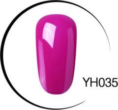 DW4Trading® Gel nagellak kleur YH035 uv led lucht drogend 10ml.