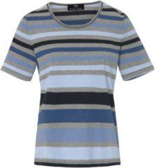 Shirt met ronde hals Van Peter Hahn blauw