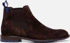 Floris van Bommel Chelsea boots bruin - Maat 42