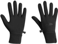 Icebreaker Adult Sierra Gloves Realfleece - thermohandschoen - merinowol - zwart - maat XL