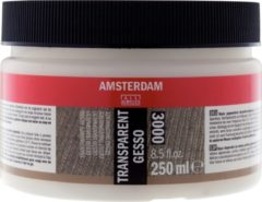 Zwarte Royal Talens Talens Gesso 000 Transparant 250 ml