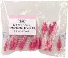 TePe Roze 25 stuks - Interdentale ragers origineel -0.4 mm - Ragers - Voordeelverpakking