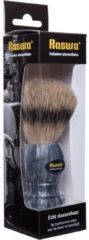 Rasura Scheerkwast Silverspits Marmer/grijs (1st)