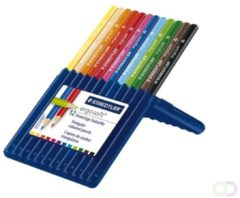 STAEDTLER ergosoft® Kleurpotloden in étui Kleurenassortiment 12 Stuks