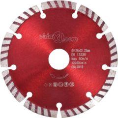 VidaXL Diamantzaagbladen 2 st met turbo 125 mm staal