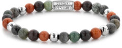 Rebel & Rose Rebel and Rose RR-60058-S Rekarmband Beads Warm Winter Wishes meerkleurig-zilverkleurig 6 mm S 16,5 cm