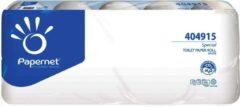 Zwarte Euro Products Papernet toiletpapier Special, 2-laags, 400 vellen, pak van 10 rollen