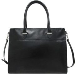 Zwarte Claudio Ferrici Classico 18039 Businessbag 15.6 inch black