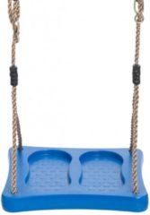 SwingKing Swing King schommelzitje voetschommel 35cm - blauw