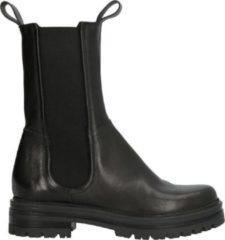 Mjus 77203 hoge leren chelsea boots zwart