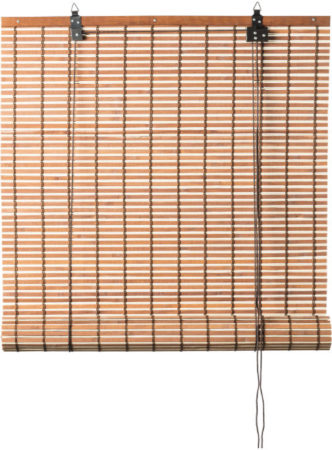 Afbeelding van Xenos Rolgordijn bamboe - lichtbruin - 90x180 cm
