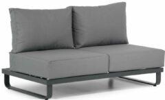 Antraciet-grijze Lifestyle Garden Furniture Lifestyle Delgada dining tuinstoel stapelbaar