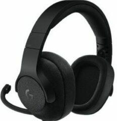 Zwarte Logitech G433 Gaming Headset met 7.1 Virtueel Surround
