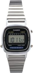 Zilveren Casio Collection LA670WEA-1EF - Horloge - 24.6 mm - Staal - Zilverkleurig