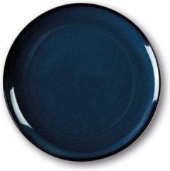 Blauwe SanoDeGusto - tempcontrol bord voor Kerstdiner - warme gerechten - verwarmbaar in oven - 27cm - dark blue - 2 stuks