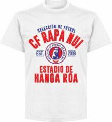 Retake CF Rapa Nui Established T-shirt - Wit - XL