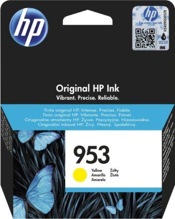 Afbeelding van HP 953 originele gele inktcartridge met gratis 2 maanden instant ink