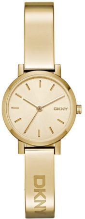 Afbeelding van DKNY NY2307 quartz goud - edelstaal PVD band 5 ATM (douchen)