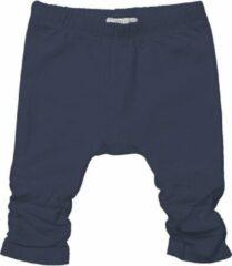 Zwarte Dirkje broek gerimpeld meisjes donkerblauw maat 92