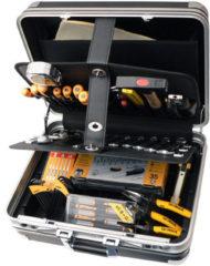 Ironside gereedschapskoffer 88 delig gevuld zwart