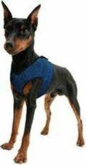 Blauwe Aqua Coolceeper Aqua Coolkeeper Cooling Comfy Harness Pacific Blue - XS 26-30 cm- kleine hond