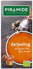 Piramide Darjeeling thee eko 20 Stuks