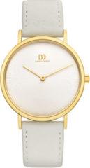 Gouden Danish Design watches edelstalen dameshorloge Marilyn Gold Grey IV15Q1247