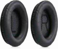 MMOBIEL Koptelefoon oorkussens earpads geschikt voor: Bose Quietcomfort (Zwart) Inclusief