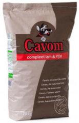 Cavom Compleet Adult Lam&Rijst - Hondenvoer - 20 kg - Hondenvoer