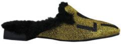 Gouden Pantoffels Thewhitebrand Loafer sand gold