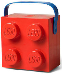 Rode LEGO Room Copenhagen 4024 Lunch bag Polypropyleen (PP) Rood