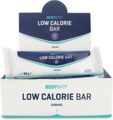 Body & Fit Low Calorie Bar - Maaltijdvervangende eiwitreep - 1 box (12 eiwitrepen) - Karamel
