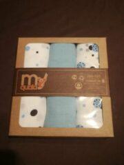 My Quala Muslin hydrofiele doeken 3 in 1, blauw