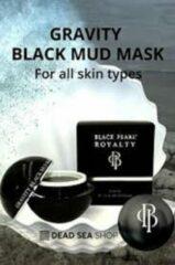 Zwarte Black Pearl Dead Sea Minerals Black Pearl Royalty Gravity Black Mud Mask Dode Zee mineralen
