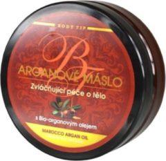 BODY TIP Argan Body Butter - 200 ml - voor een rijke verzachting en voeding van de huid -Vertraagt zichtbaar het verouderingsproces - houdt de huid elastisch en jeugdig