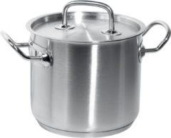 Roestvrijstalen Hendi Kookpan hoog Kitchen Line 20 liter