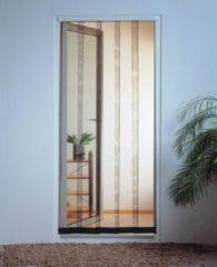 Antraciet-grijze Tesa - Lamellenhor voor deuren (met magneet) - 95x220 cm - Antraciet