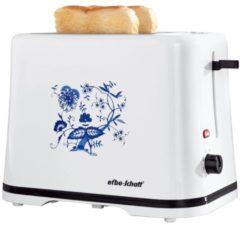 Toaster mit Zwiebelmusterdesign efbe-Schott weiß-blau