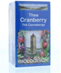 Terschellinger Cranberry Thee Bio (20st)