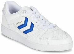 Witte Lage Sneakers Hummel HB TEAM