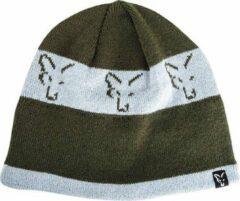 Fox groen & Silver Beanie - Muts