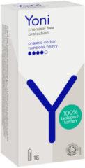 5x Yoni Biologisch Katoenen Tampons Heavy 16 stuks